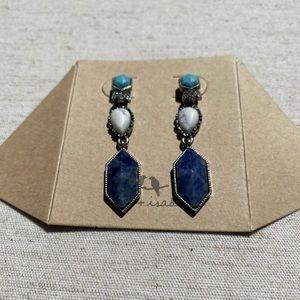 💙NWT C+I Turkish Delight Drop Earrings